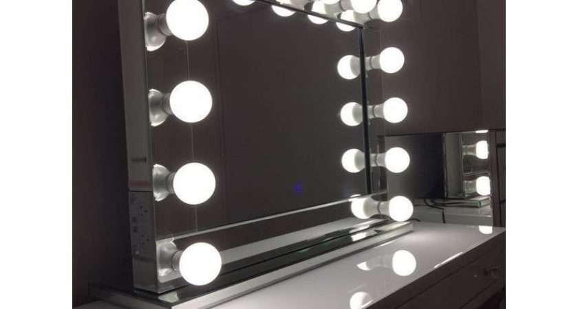 Hollywood Vanity Makeup Mirror Dimmable Lights Buy