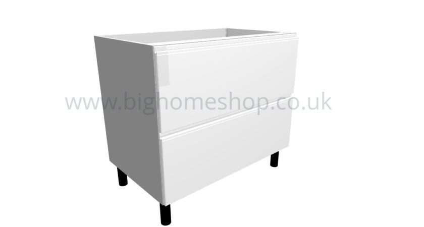 Home Base Unit Intergrale Drawer Pack White Gloss