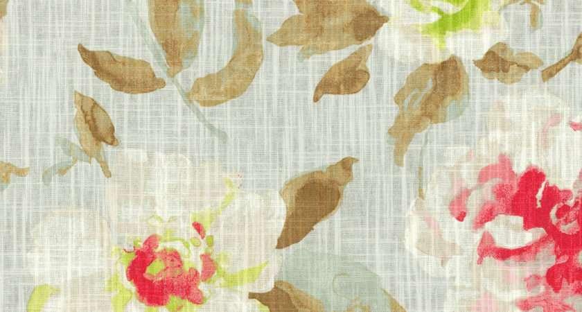Home Decor Print Fabric Hgtv Pretty Please Blushing