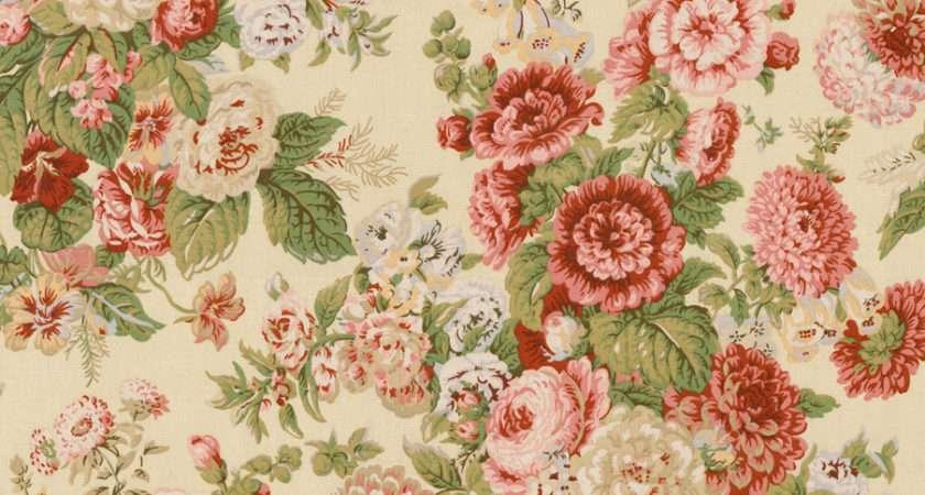 Home Decor Print Fabric Waverly Sitting Pretty Antique
