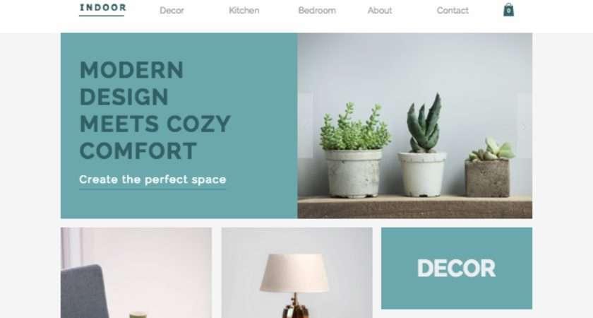 Home Decor Website Templates Store Wix
