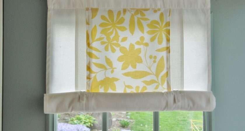 Home Fabric Progress Sunroom Roll Shade Hack