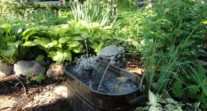 Home Garden Designs Landscaping Water Fountains Ideas