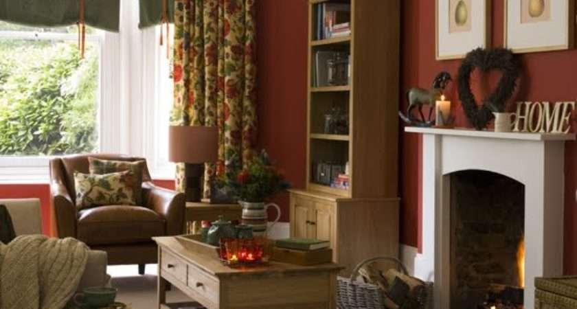 Home Garden Exclusive Country Living Room Design