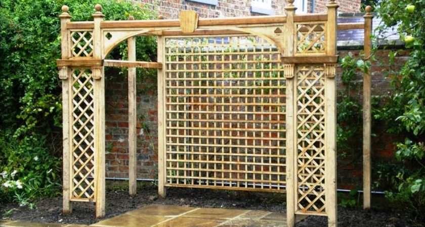 Home Garden Ideas Popular Trellis Styles