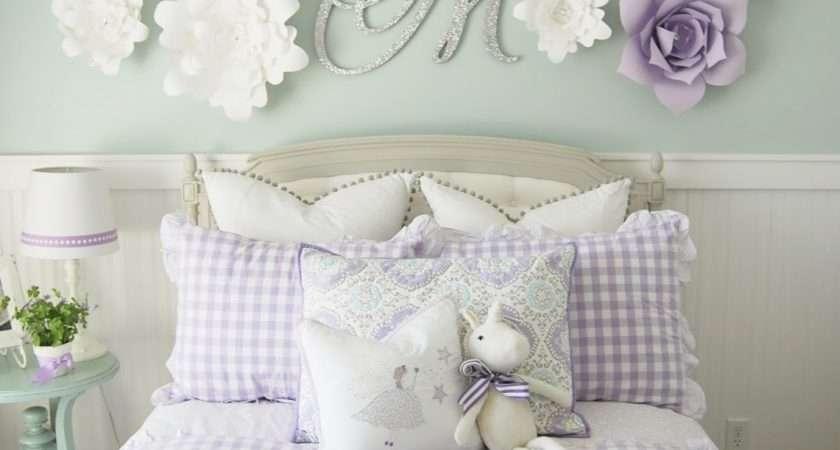 Home Heidi Purple Turquoise Little Girls Room