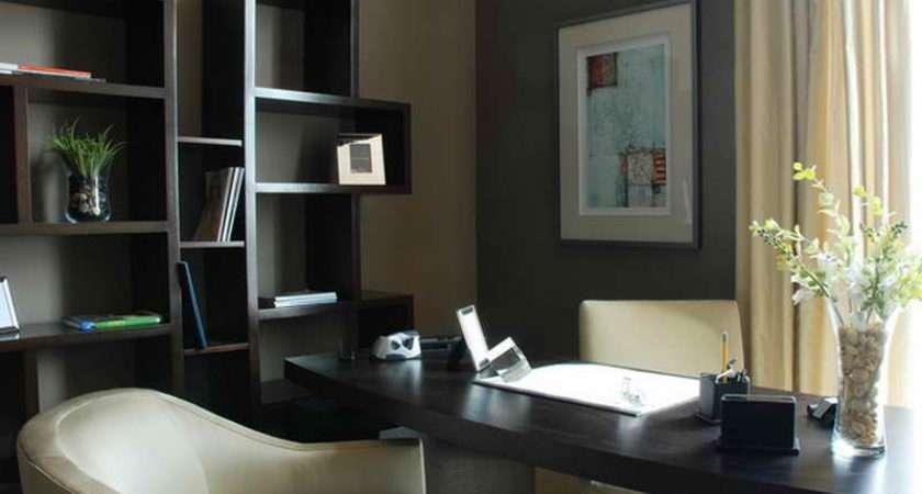 Home Ideas Modern Office Design Style