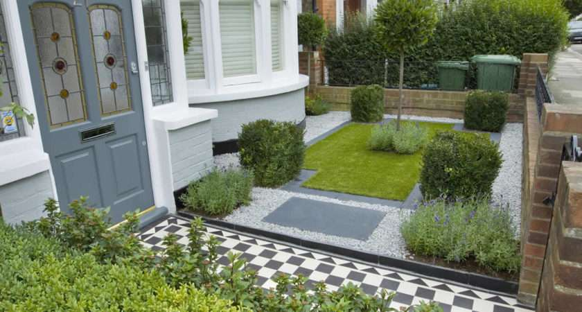 Home Interior Design Ideas Modern Small Front Garden