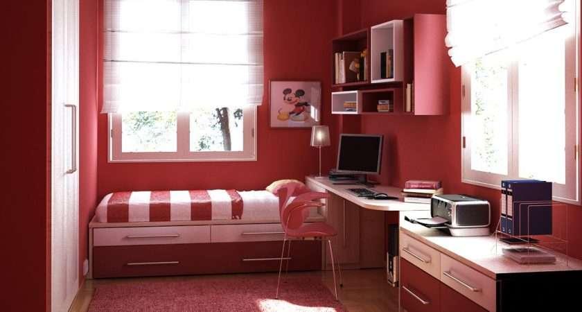 Home Interior Design Teen Room Ideas Red Bedroom
