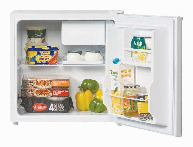 Home Lec Wide Table Top Refrigerator Freezer Box