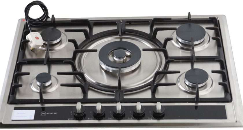Home Neff Integrated Gas Hob Stainless Steel
