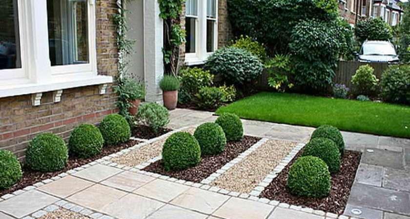 Home Outdoor Front Garden Design Ideas