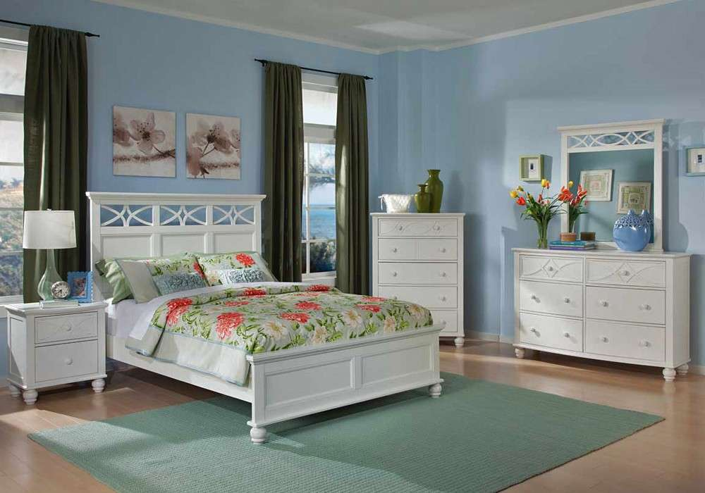 Home Sanibel Cottage Style Bedroom Collection