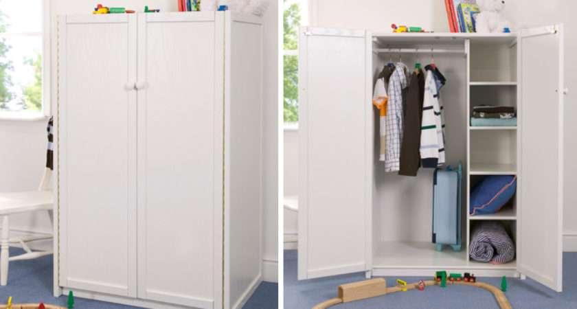 Home White Children Wardrobe
