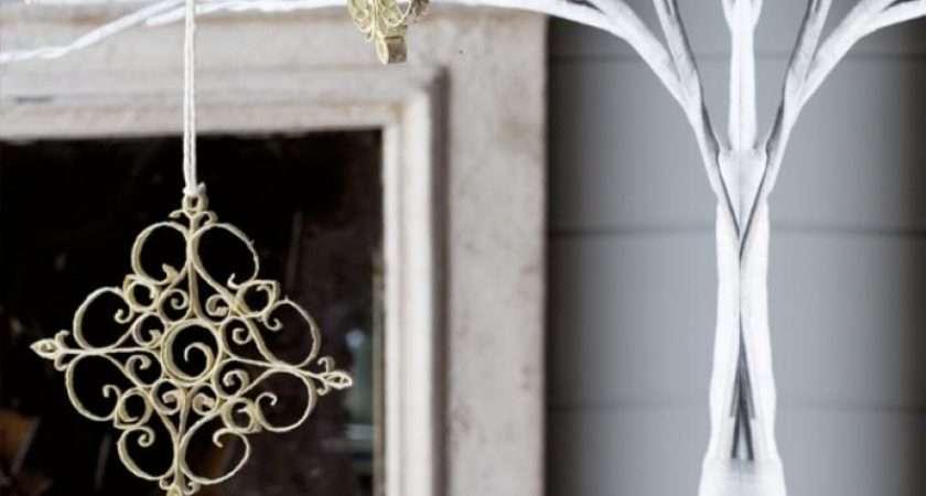 Homelife Make Paper Snowflake Ornaments