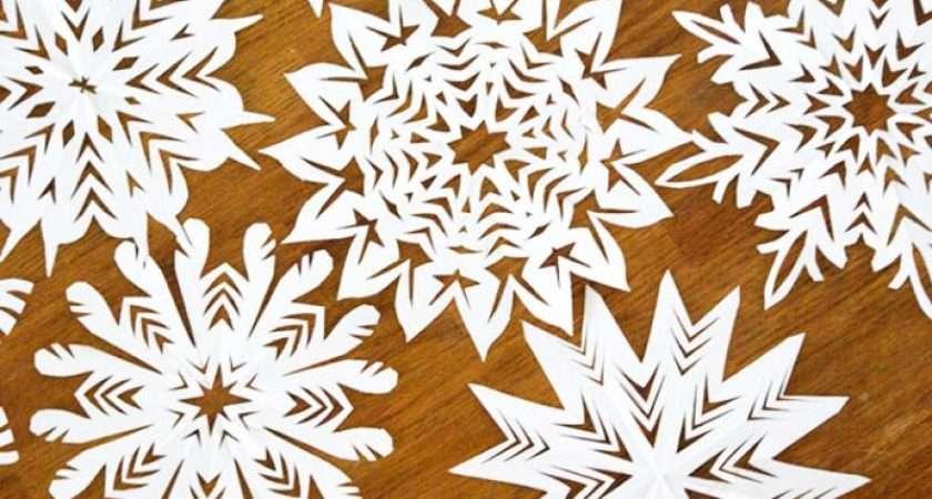 Homelife Make Snowflake Christmas Decorations