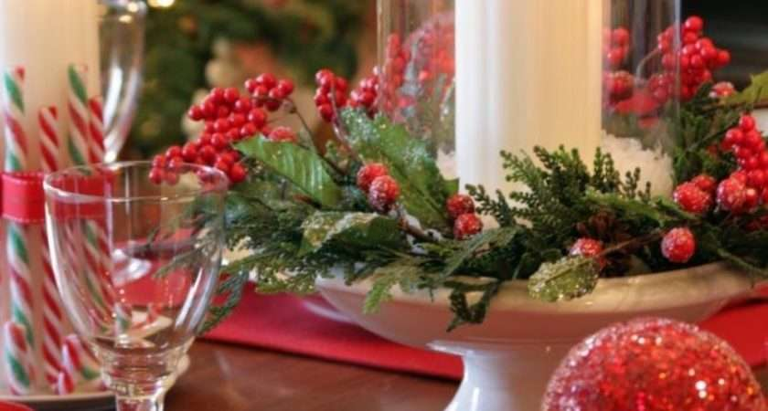 Homemade Christmas Decorations Centerpieces