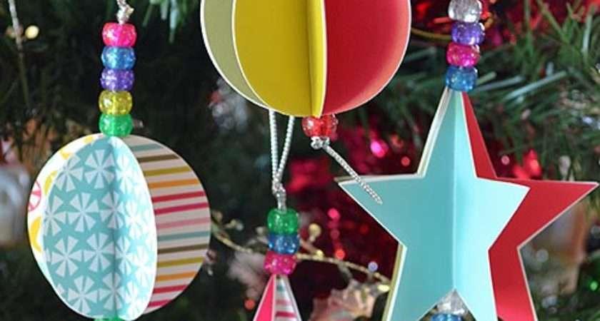 Homemade Christmas Ornaments Diy Handmade Ornament Dma