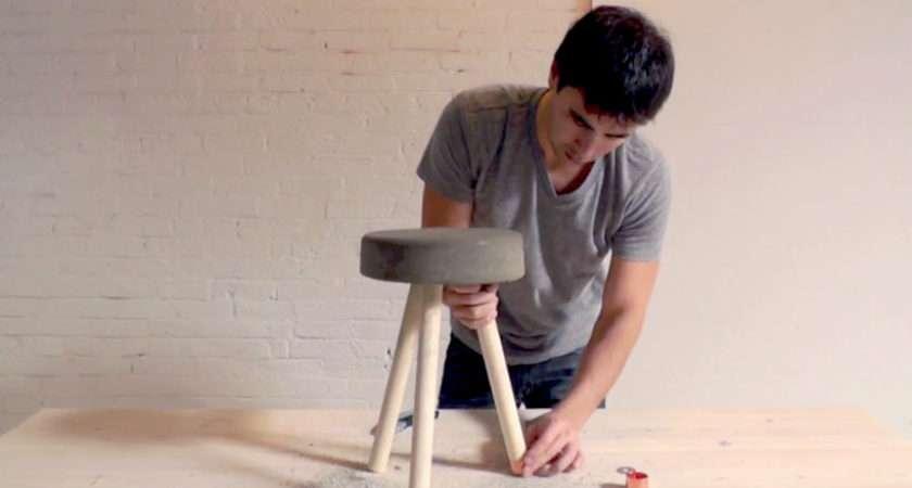Homemade Modern Diy Bucket Stool Optional Step