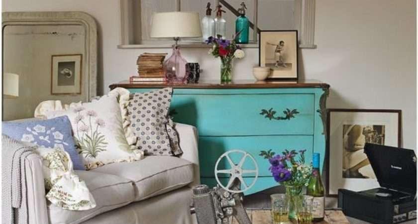 Homeoffice Dekoration Vintage Stil Wohnzimmer