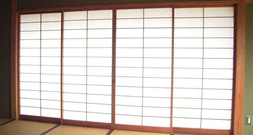 Homeofficedecoration Japanese Style Sliding Glass Doors