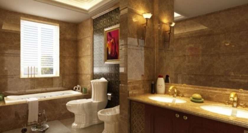 Homeofficedecoration Model Home Bathroom