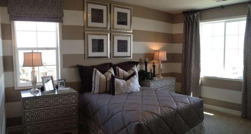 Horizontal Bedroom Stripe Decor Pinterest