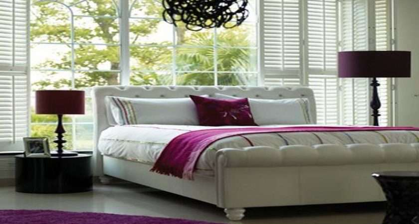 Hot Pink Bedroom Accessories White