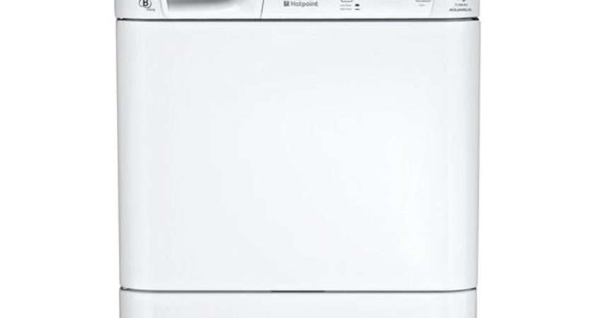 Hotpoint Aquarius Tcm Condenser Tumble Dryer White