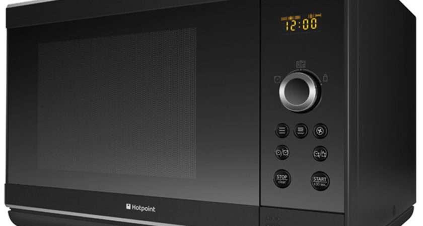 Hotpoint Mwh Buk Combination Microwave Black