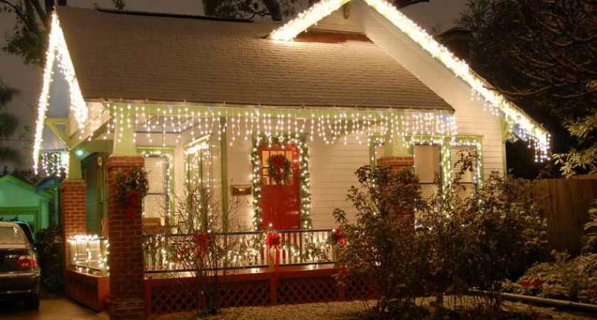 House Decor Unique Christmas Lights Outdoor
