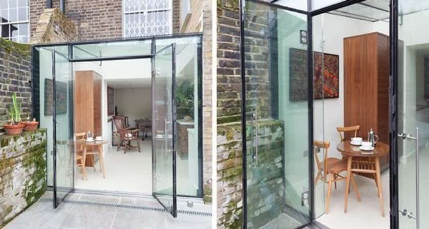 House Designs Featuring Glass Extensions Enjoy Nature