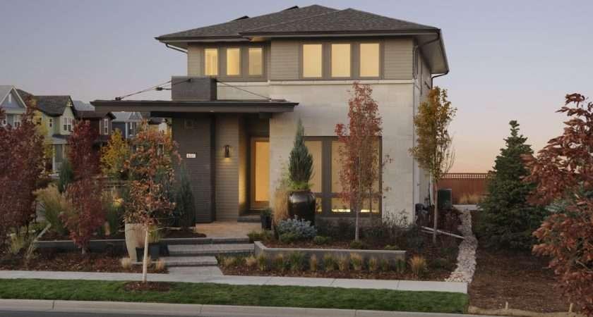 House Exterior Design Ideas Modern Brown Color