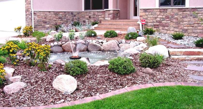 House Front Landscaping Ideas Bright Design Marvelous