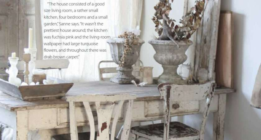 House Home Shabby Chic Style Interiors Color
