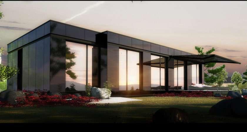 House Low Cost Modular Home Modern Futuristic