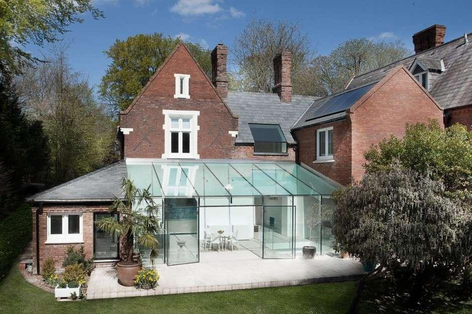 House Modern Glass Extension Design Studio Freshome