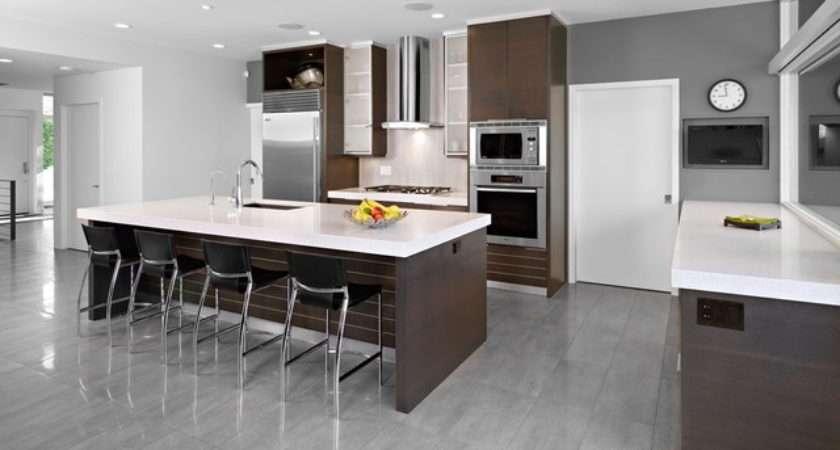 House Modern Kitchen Edmonton Thirdstone Inc