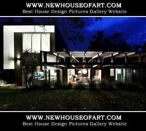House Open Plan Design Newhouseofart Modern Club