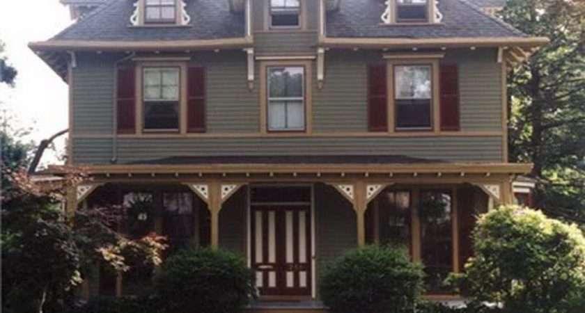 House Types Ideas Victorian Exterior Paint Color Scheme