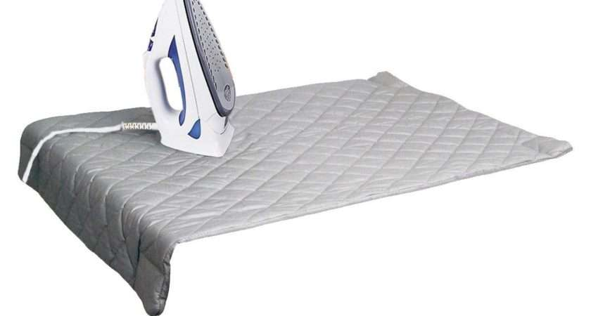 Houseables Magnetic Ironing Mat Laundry Pad Washer Dryer
