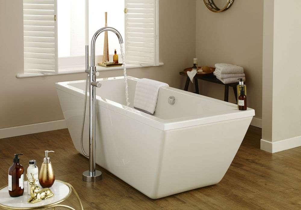 Hudson Reed Square Freestanding Bath Brand New Ebay