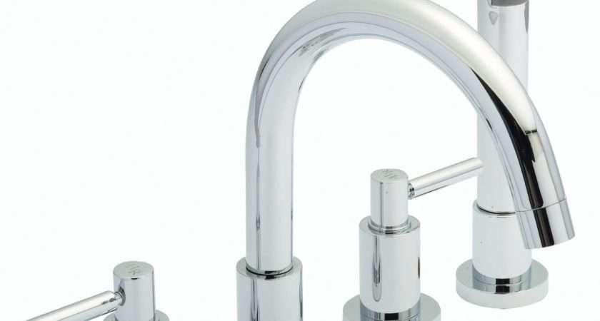 Hudson Reed Tec Levers Tap Hole Bath Shower Mixer