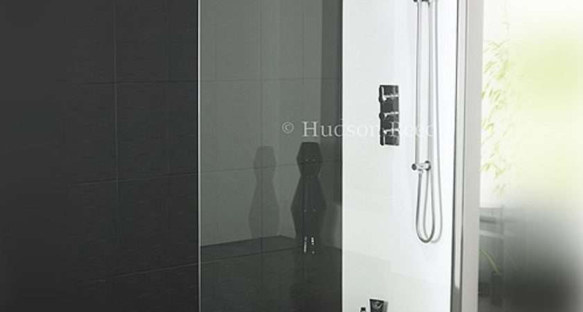 Hudson Reed Wet Room Screen Including Wall Brackets