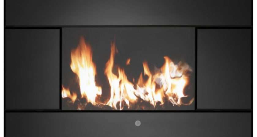 Hung Electric Fire Evoke Lcd Innovative Way