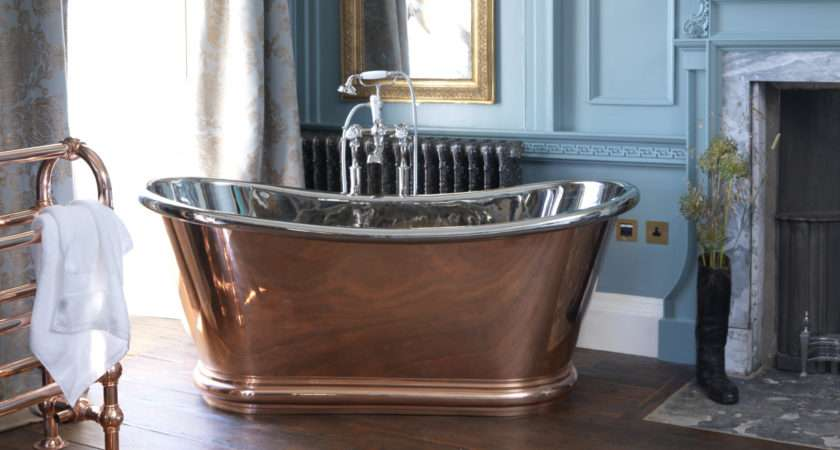 Hurlingham Bath Company Luxury Cast Iron Copper Baths
