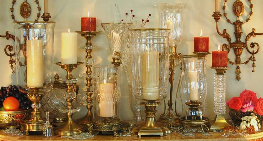 Hurricane Candle Lamps