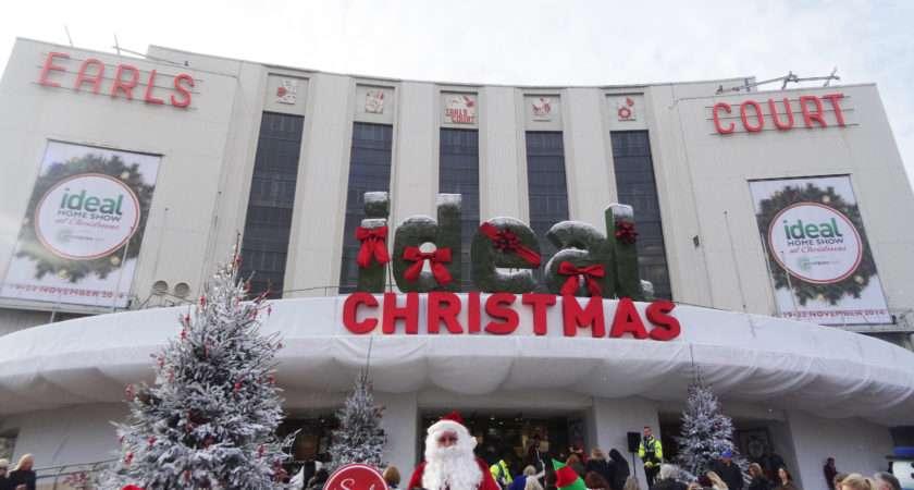 Ideal Home Show Christmas Sweetpea London