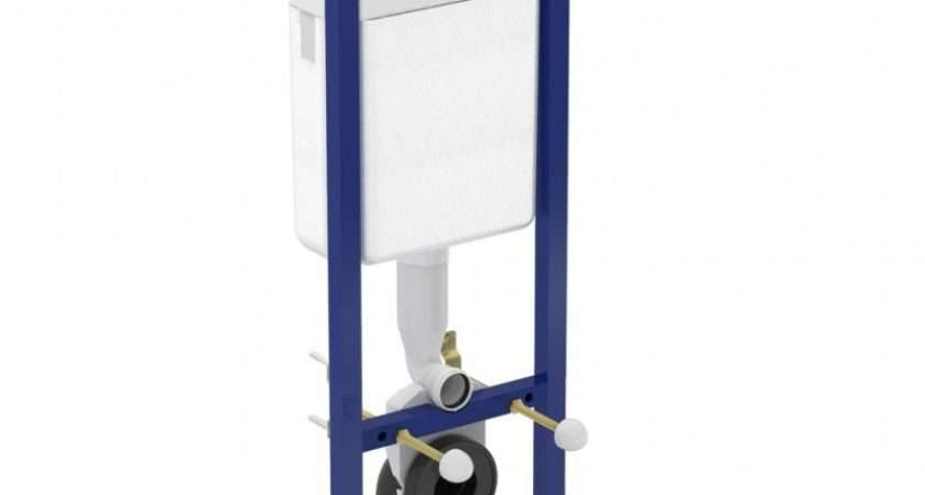 Ideal Standard Frame Cistern Concealed Toilet Wall Hung