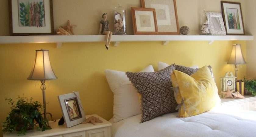 Ideas Above Headboard Room Decorating Home